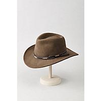 Teton Crushable Wool Cowboy Hat, KHAKI, Size Medium (7–7 1/8)
