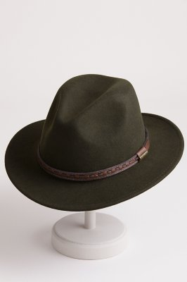 Sierra Crushable Wool Safari Hat