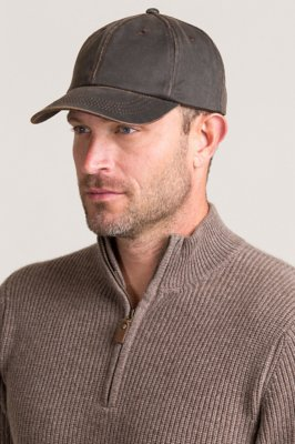 Weathered Cotton Baseball Cap