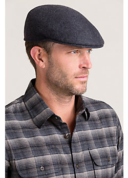 Crushable Wool Felt Ascot Hat