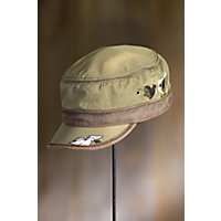 """Spirit Embroidered Cadet Cap, Olive (Adjustable 22.5 - 24.75"""" Circumference) Western & Country"""