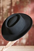 Women's Wool Felt Gambler Hat