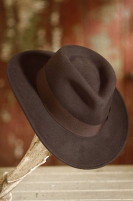 Indiana Jones Crushable Wool Hat