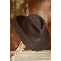 1930s Style Mens Hats Indiana Jones Crushable Wool Fedora Hat BROWN Size XLARGE 7 12 - 7 58 $65.00 AT vintagedancer.com
