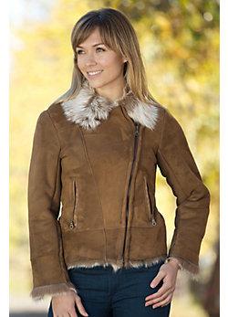 Women's Erika Toscana Sheepskin Jacket