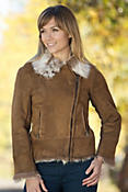Women's Erika Shearling Sheepskin Jacket