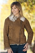 Women's Erika Toscana Sheepskin Jacket