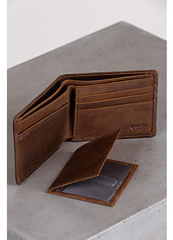 Vanderbilt Distressed Leather Wallet