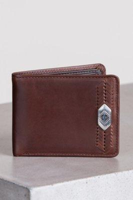 Cape Verde Ornament Leather Wallet
