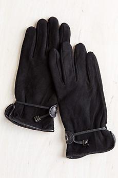 Women's Fleece-Lined Deerskin Driver's Gloves