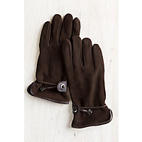 Women's Ponderosa Fleece-Lined Deerskin Leather Driving Gloves