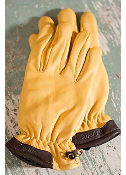 Men's Boot Leather Gloves