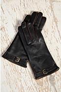 Women's European-Style Lambskin Leather Gloves
