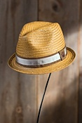 Kids' Hammond Jr. Goorin Brothers Straw Fedora Hat