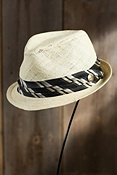 Duke Chandler Goorin Brothers Straw Fedora Hat