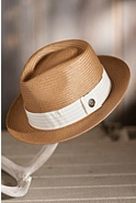 Snare Goorin Brothers Straw Fedora Hat