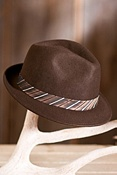 First Class Goorin Brothers Wool Fedora Hat