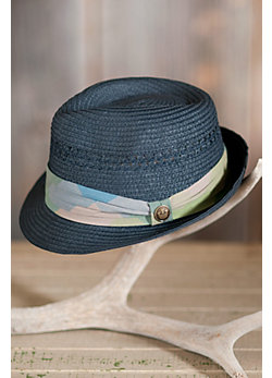 Heat Wave Goorin Brothers Straw Fedora Hat