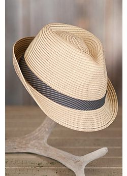 Good Life Goorin Brothers Crushable Straw Fedora Hat