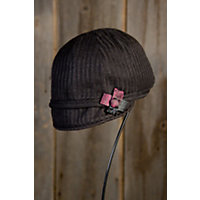 """Lady Scarlet Goorin Brothers Wool Schoolboy Hat, Black, Size Medium (22.25"""" Circumference) Western & Country"""