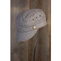 """Demata Goorin Brothers Wool-Blend Hat, Brown, Size Medium (22 1 / 4"""" = Size 7 1 / 8) Western & Country"""