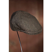 """Manhattan Goorin Brothers Halo Ivy Cap, BROWN, Size SMALL (21 7/8"""" = size 7)"""