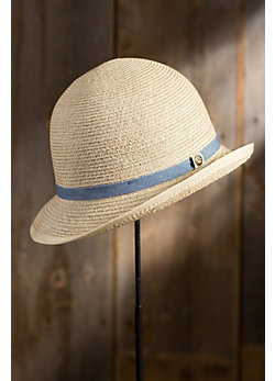 Paulette Goorin Brothers Crushable Straw Cloche Hat