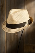 Cahoots Goorin Brothers Straw Fedora Hat