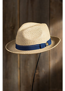Gilles Goorin Brothers Crushable Straw Fedora Hat