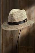 Henri Goorin Brothers Crushable Straw Fedora Hat
