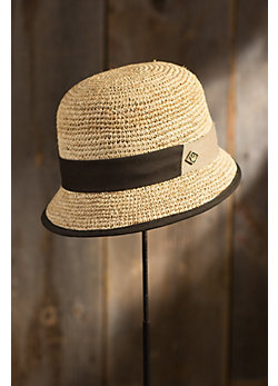 Minxy Goorin Brothers Straw Cloche Hat