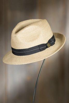 Goorin Bros. Crystal Blue Straw Fedora Hat