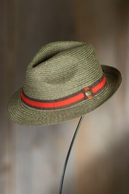 Stuart Goorin Brothers Straw Fedora Hat