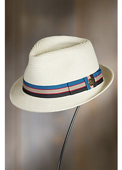 Goorin Bros. Buggy Whip Straw Fedora Hat