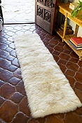 2' x 8' Rectangular Australian Sheepskin Rug