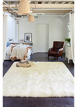 8' x 11.5' Rectangular Australian Sheepskin Rug