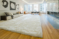 Rectangular Australian Sheepskin Rug Lifestyle