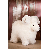 Lucky Sheepskin Stuffed Sheep Western & Country