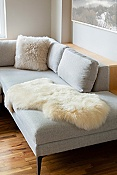Single-Pelt Long Wool Australian Sheepskin Rug