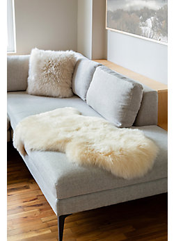 Overland Single-Pelt Long Wool Australian Sheepskin Rug