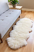 2-Pelt End-to-End Australian Sheepskin Rug