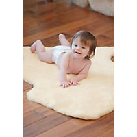 Sheepskin Baby Rug With Short Wool Western & Country