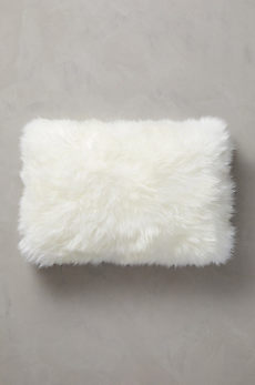 "Overland 24"" x 16"" Single-Sided Australian Sheepskin Pillow"