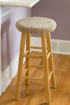 Overland Sheepskin Bar Stool Cover