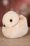 Stuffed Sheepskin Duck