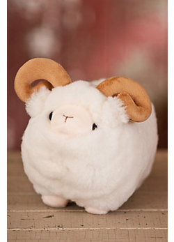 Stuffed Sheepskin Sheep