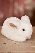 Stuffed Sheepskin Rabbit