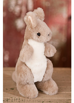 Stuffed Sheepskin Kangaroo