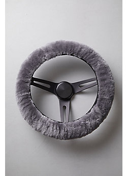 Universal Matching Sheepskin Steering Wheel Cover