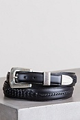 Salina Taper Leather Belt